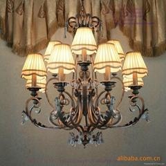 Tiffany hotel chandelier