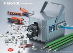 FEK-50L Pneumatic Type Terminal Crimping