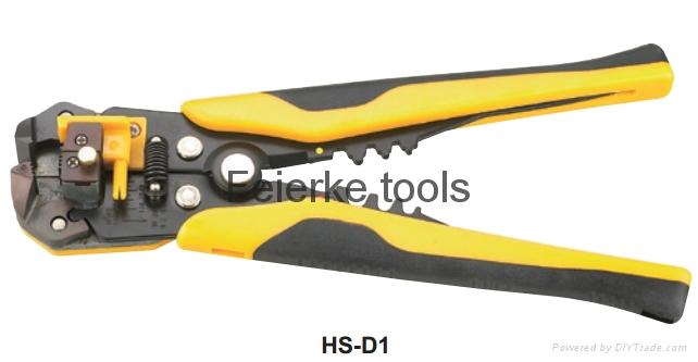 HS-D1 / HS-D2 多功能剝線鉗(脫皮/剪切/壓接鉗)