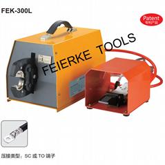FEK-300L 氣動式端子壓接機