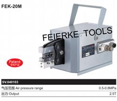 FEK-20M 氣動式端子壓接機