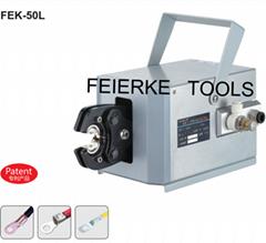 菲爾科FEK-50L氣動式端子壓線鉗 冷壓鉗