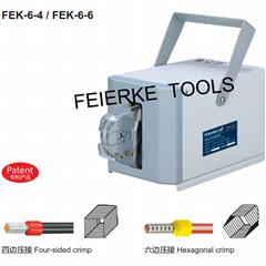 FEK-6-4 滾邊自動氣動式端頭壓接機