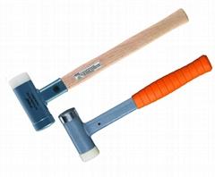無反彈鋼塑木柄錘鋼塑鋼柄錘
