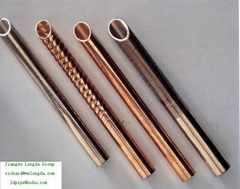 copper pipe/high effective tube/Low fin/inner grooved/enhanced condensation /