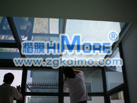 建築玻璃防爆保護膜 1
