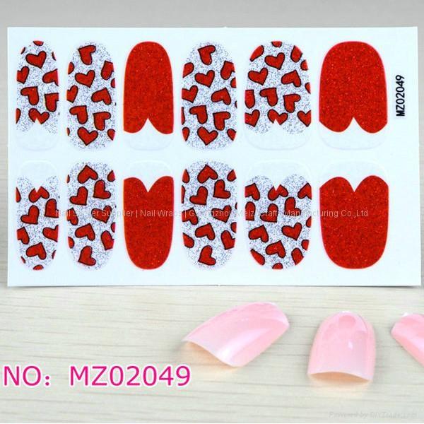 Nail Polish stickers 3