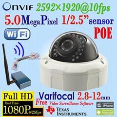WxxG/W/P/  Wifi   IP Camera with 1080P Varifocal PTZ Pan/Tilt Zoom ONVIF