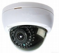 Super WDR 3.0 Megapxiels IP  dome IR Audio HD CCTV Security Dome IP Camera
