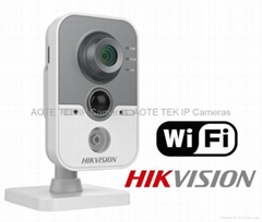 Hikvision DS-2CD2432F-IW 3MP Camera POE MICrophone WiFi Card Slot IR 2.8mm/4/6mm