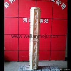 花瓶柱壓線模具