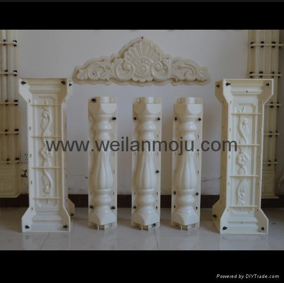 花瓶柱間隔柱模具 2