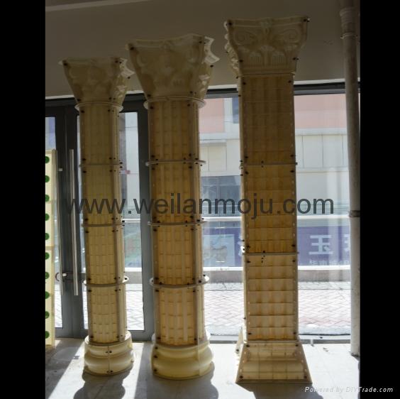 羅馬柱模具 2