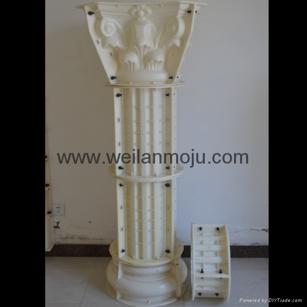 羅馬柱模具 3