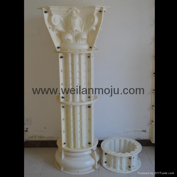 羅馬柱模具 4