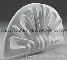 grc浮雕花