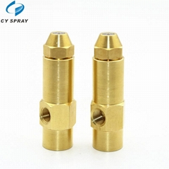 Brass Siphon Air Atomizing Pressure Waste Oil Burner Nozzle