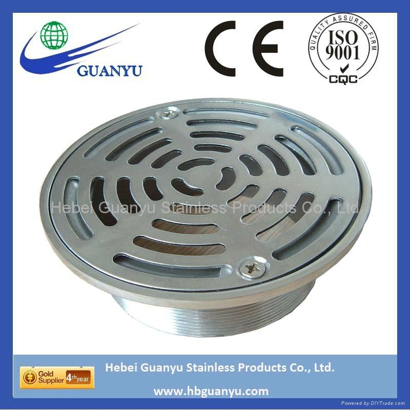 stainless steel SS304 316 316L CF8 CF8M CF3M floor drain 1