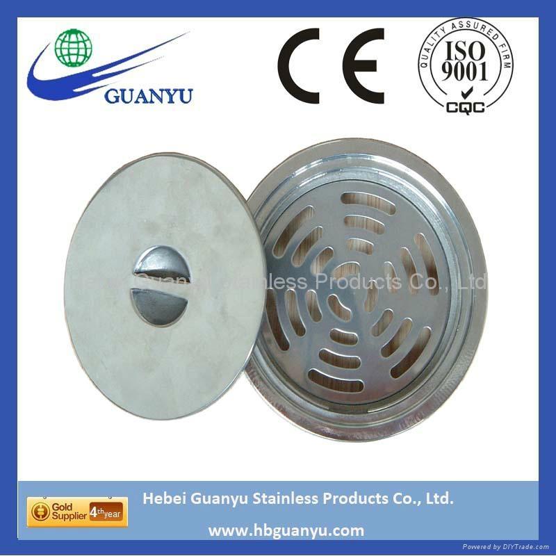stainless steel SS304 316 316L CF8 CF8M CF3M floor drain 4