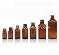 200ml Amber Essential Oil Glass Bottle 2