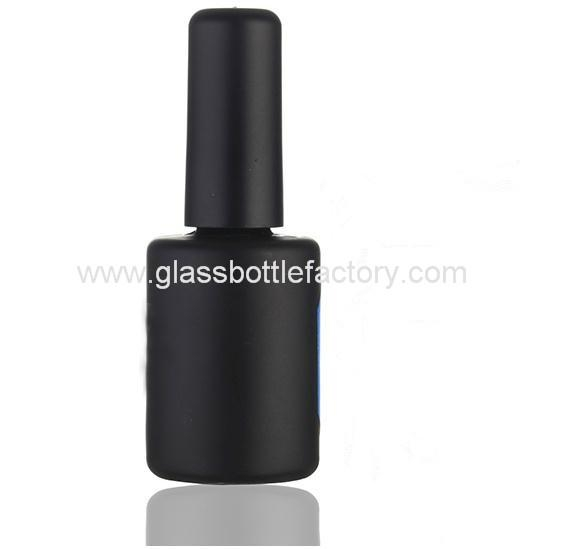 Glass Nail Polish Bottle With Cap and Brush 2