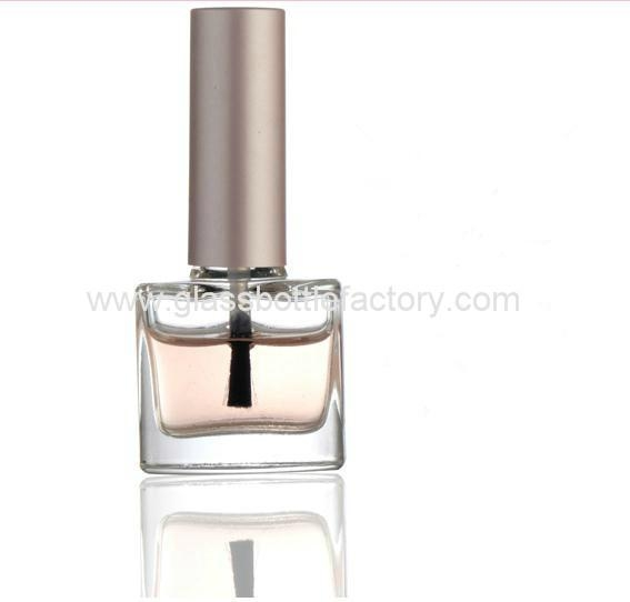 Glass Nail Polish Bottle With Cap and Brush 3