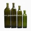 MARASCA Dark Green Olive Oil Glass