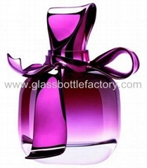 Perfume Glass Bottle With Cap and Sprayer