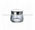 Glass Cosmetic Jar With Lid 2