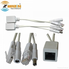 Passive Power Over Ethernet POE cable kit