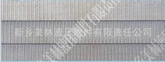 Multilayered sintered metal mesh
