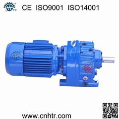 HR series foot mounted helical gear motor same with SEW gearmotors