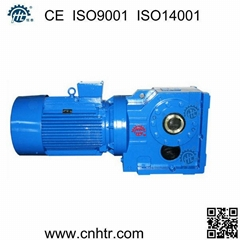 K series 90 degree right angle bevel helical gearbox