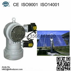 1-150 square meters heliostat used dual axis solar tracker tracking gearbox