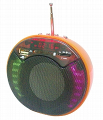 Mobile Multimedia 3D Stereo mp3 Speaker