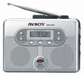 調頻、調幅收音、自動返帶錄放