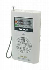 FM 插卡收音機 Mp3放音