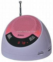 多媒體3D立體聲mp3 音箱 收音機