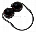 FM Stereo Radio Headphones with mp3 player
