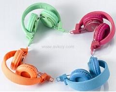 MICRO SD/TF卡播放音樂FM收音耳機