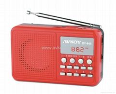 插卡音箱 MP3多功能收音机