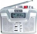 Digital Radio cassette player with Auto reverse