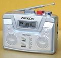 Digital radio cassette recorder with Auto reverse