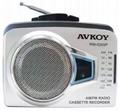 AM/FM Radio Cassette Recorder