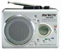 AM/FM Digital Radio cassette recorder with Auto reverse