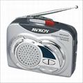 radio cassette recorder player(Walkman)