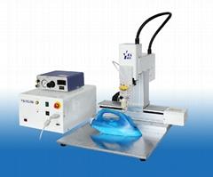 High performance liquid glue dispensing robot for juction box fixing