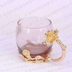 鋅合金玻璃杯底座