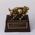 Wall Street bull zinc alloy ornaments