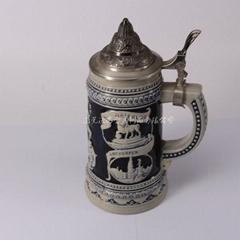 Zinc alloy ceramic cup cover